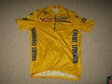 Tour de France 1993 Castelli Yellow Leaders cycling jersey [XXL] NOS