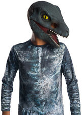 Jurassic World - Blue Velociraptor Dinosaur Child Mask