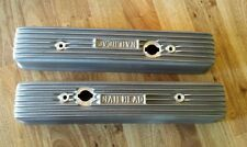 1953-66 Buick nailhead 322 364 401 425 SATIN finned valve covers  Eelco