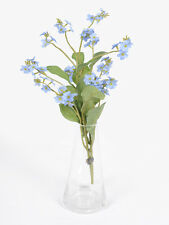 2 Artificial Forget - Me - Nots - Pale Blue Spring Flowers - Myosotis Sylvatica