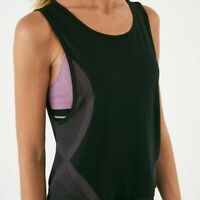 UNDER ARMOUR seamless muscle women's tank top - Black - MEDIUM