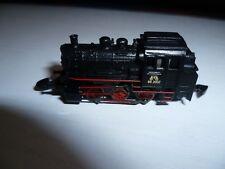 märklin spur z black Loco with 5 pole Engerine with red Stripes unused