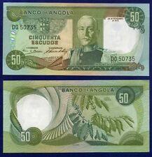 ANGOLA BANKNOTE 50 ESCUDOS 1972  AU-UNC CL-1