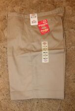 Dickies Girl's Jr Bermuda Shorts Stretch Fabric  KR714KH Size 19 Khaki 40x13