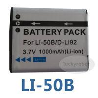 Battery For Pentax D-LI92 DLI92 Optio I-10, RZ10, RZ18 WG1 GPS X70 X-70 9000 new