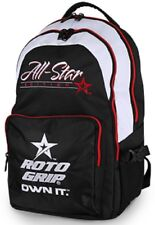 Roto Grip All Star Bowling Ball Tournament Back Pack Bag Blk/White/Red Backpack