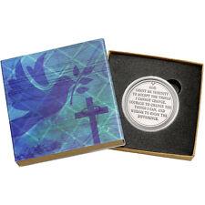 Serenity Prayer 1oz .999 Fine Silver Round by SilverTowne (Religious Box)