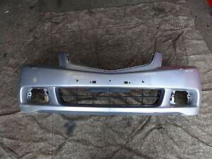 Honda Accord CL9 Mk7 2003-2006 Saloon front bumper in satin silver NH623M