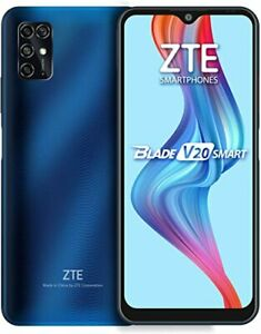 "ZTE Blade V20 Smart 128GB/4GB 6.82"" 16MP Quad Camera 5000mAh Smartphone - Blue"