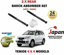 FOR DAIHATSU TERIOS 4x4 2005-> 2X REAR LEFT + RIGHT SHOCK ABSORBER SHOCKER SET