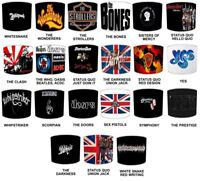 Glastonbury Heavy Rock Bands, Rock Music, Rock n Roll Bands Designs Lampshades