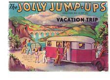 The Jolly Jump-Ups Vacation Trip; (Board book) 1942