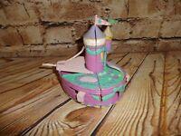 Vintage Trendmasters Glitter Purple Castle Polly Pocket 1995 Secret BOW Open