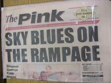 19/02/1994 COVENTRY evening Telegraph il rosa: principali titolo recita: Sky Blues o