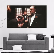 Poster Mural Movie The Godfather Mob Gangster 40x58 inch (100x147 cm) 8mil Paper