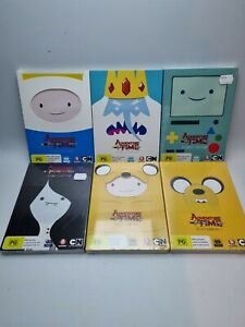 Adventure Time Complete Season 1-5 12 DVDs, Mostly Sealed. RRP: $180 - FREE Post