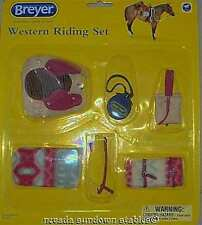 Breyer Model Horses Accessories Western Riding Set