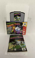 WOW NEAR MINT! Space Station: Silicon Valley N64 CIB! COMPLETE AUTHENTIC