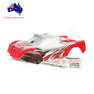 17097 HSP RC 1/10 Off Road Short Course Truck Red Body Shell 46X23cm Redcat
