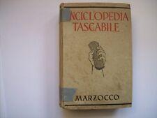 ENCICLOPEDIA TASCABILE MARZOCCO 1942 ( cc39 )