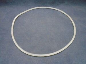 Lab Silicone O-Ring for Reaction Vessel 200mm Flange 219mm OD 210 ID x 5mm