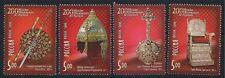 RUSSLAND RUSSIA 2006 MOSCOW KREMLIN MUSEUMS MiNr: 1315 - 1318 MNH