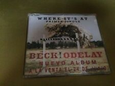 BECK - SPANISH PROM0 CD SINGLE SPAIN WHERE IT'S AT INDIE ROCK