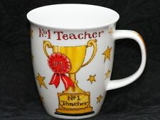 DUNOON Nº 1 TEACHER Fine Bone China NEVIS Mug