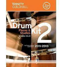 Drum Kit: Bk. 2: Grades 3 & 4 by Trinity Guildhall (Sheet music, 2010)