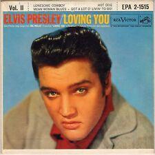 "ELVIS PRESLEY ""LOVING YOU VOL. II"" EP 1957   RCA VICTOR EPA-1515, 2eme LABEL !"