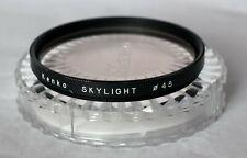 Kenko 48mm skylight filter including case.