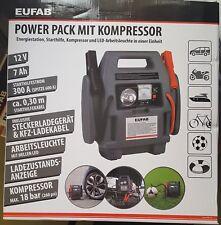 Power Pack mit Kompressor Starthilfe bis 600A