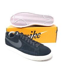 Nike Blazer Low Black Sail Lilac Skate Basketball 371760-024 8 9 9.5 10.5 sb