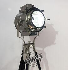 Vintage Focus Sea Lamp Floor Light with Tripod Stand Night Bed-Room Lighting LED