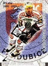 2004-05 Czech OFS Checklist Cards #6 Milan Hejduk, Checklist