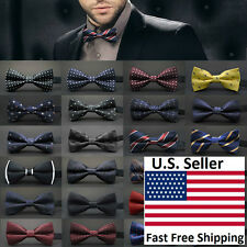 Classic 23-Style Fashion Men's Adjustable Tuxedo Bowtie Wedding Bow Tie Necktie