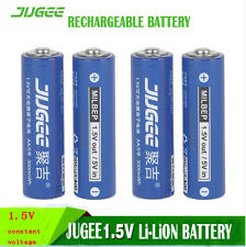 freeship Jugee 3000mWh rechargeable Lithium AA battery li-polymer PK KENTLI ph5