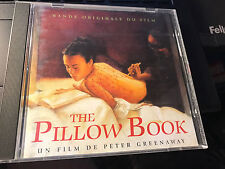 The Pillow Book Soundtrack IMPORT cd NEAR MINT