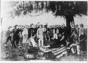 "8"" x 10"" 1836 Santa Ana's Surrender to General Sam Houston"