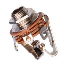 Jack 6.3mm Stereo Femmina con Interruttore Presa Connettore da Pannello 6.35mm