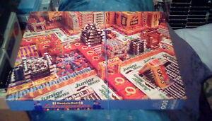 "vintage Springbok Hallmark Jigsaw Puzzle Tootsie Roll Candyscape 18 x 23"" 500 pc"
