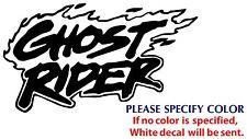 "Ghost Rider Game Movie TV Funny JDM Vinyl Sticker Decal Car Window Wall 7"""