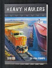 Australia 2008 Heavy Haulers sa bklt-Attractive Topical (2848a) Mnh