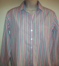Women's Tommy Hilfiger long-sleeved striped shirt/blouse Size US 4, Aus 8-10