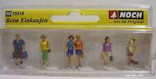 Noch Figuren Passanten beim Einkaufen für Spur H0 NEUWARE mit OVP -15518