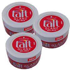 ( 58,09€/ L) 3x 75ml Tafetán BRILLO gel-wax ESTRUCTURA ESTILIZADO 24H sujeción