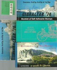 WORLWIDE BOOKLETS OF STAMPS