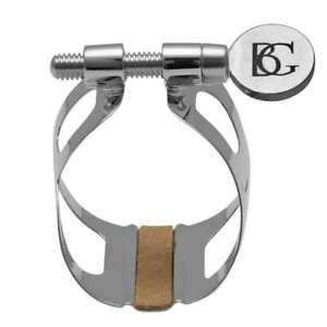 BG France Tradition Ligature for Bb Clarinet, Silver Plated - L2