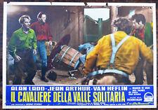 FOTOBUSTA ORIGINALE IL CAVALIERE DELLA VALLE SOLITARIA 53 Shane ALAN ADD