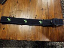 Abercrombie Kids Boy's Blue/lime green Belt Size 12